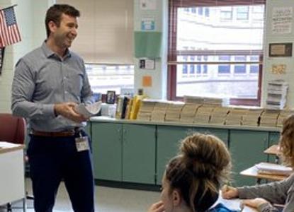 Teacher of the Year: Mr. Peter Kerwin